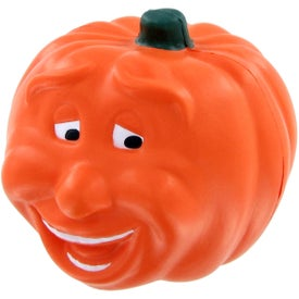 Smiling Pumpkin Stress Ball