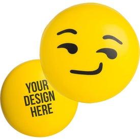 Smirk Emoji Stress Reliever