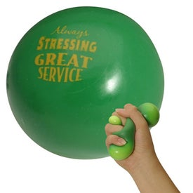 Smoosh Stress Ball Branded with Your Logo