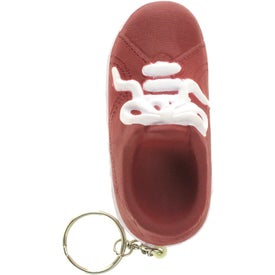 Personalized Sneaker Key Ring Stress Reliever