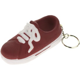 Custom Sneaker Key Ring Stress Reliever