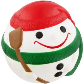 Customized Snowman Ball Stress Toy