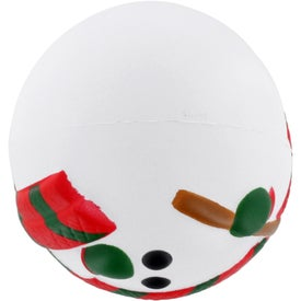 Snowman Stress Ball for Promotion