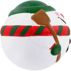 Snowman Stress Ball for Your Company