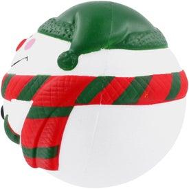 Snowman Stress Ball for Marketing