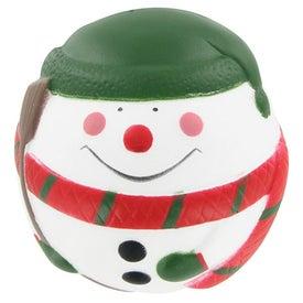 Customized Snowman Stress Ball