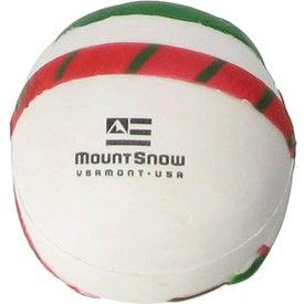 Personalized Snowman Stress Ball