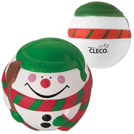 Snowman Stress Ball (Economy)