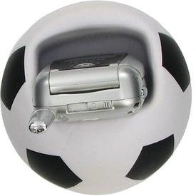 Soccer Ball Cell Phone Holder Stress Ball for Advertising