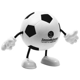 Soccer Figure Stress Ball