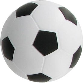 Soccer Stress Ball Branded with Your Logo