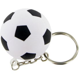 Soccer Ball Keychain Stress Toy for Your Organization