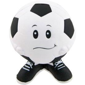 Soccer Ball Man Stress Toy