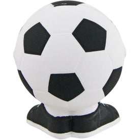 Soccer Ball Man Stress Toy Printed with Your Logo
