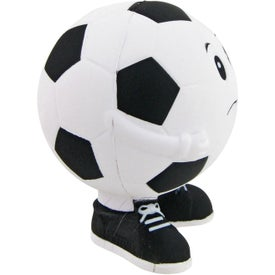 Soccer Ball Man Stress Toy for your School