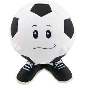 Soccer Ball Man Stress Toy for Your Company