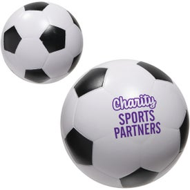 Soccer Ball Slo-Release Serenity Stress Ball