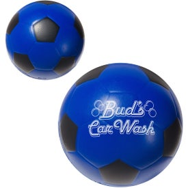 Soccer Ball Stress Ball Imprinted with Your Logo