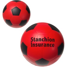 Personalized Soccer Ball Stress Ball