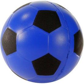 Custom Soccer Ball Stress Ball