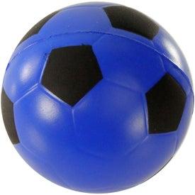 Logo Soccer Ball Stress Ball