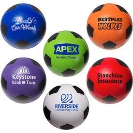 Imprinted Soccer Ball Stress Ball