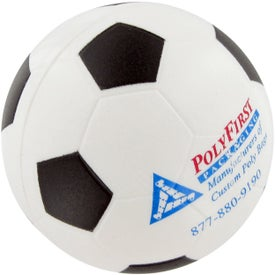 Soccer Ball Stress Toy for Advertising