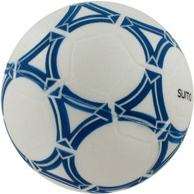 Personalized Soccer Ball Stress Reliever for your School