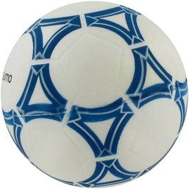 Logo Soft Soccer Ball Stress Reliever