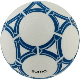 Promotional Personalized Soccer Ball Stress Reliever