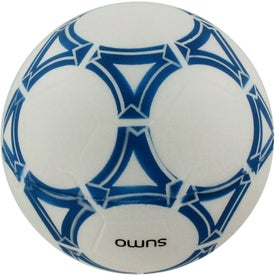 Branded Personalized Soccer Ball Stress Reliever
