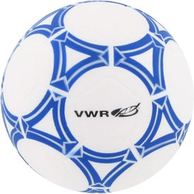 Personalized Soccer Ball Stress Reliever Printed with Your Logo