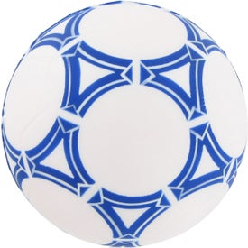 Personalized Soccer Ball Stress Reliever for Advertising