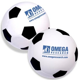Soccer Balls Stress Relievers