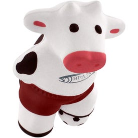 Soccer Cow Stress Reliever Giveaways