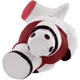 Soccer Cow Stress Reliever for Promotion
