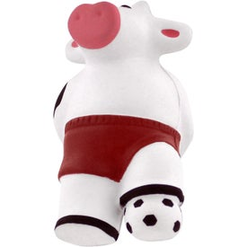 Soccer Cow Stress Reliever for Marketing