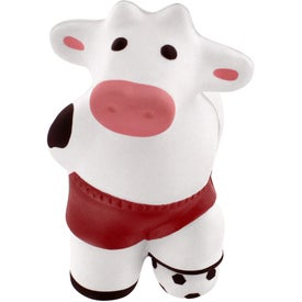 Advertising Soccer Cow Stress Reliever