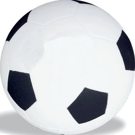 Logo Soccer Stress Ball