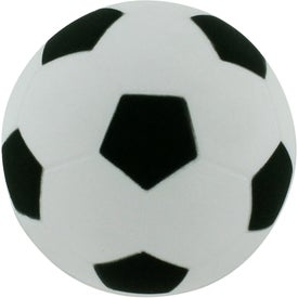 Monogrammed Soccer Ball Stress Reliever