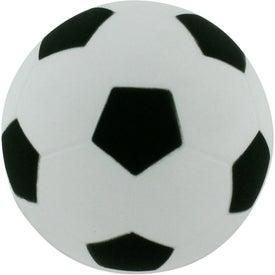 Monogrammed Soccer Ball Stress Reliever