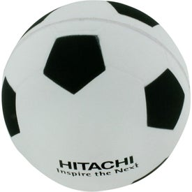 Imprinted Soccer Ball Stress Reliever