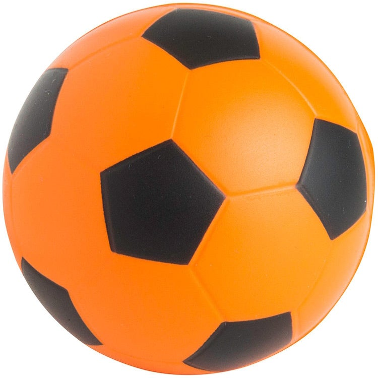 promotional soccer ball stress relievers with custom logo for 0 571 ea