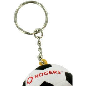 Soccer Ball Keyring Stress Reliever for your School