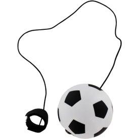 Soccer Ball Stress Ball Yo Yo for Advertising