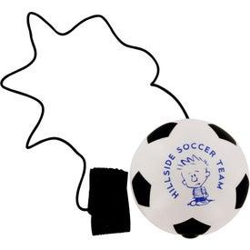 Branded Soccer Ball Stress Ball Yo Yo