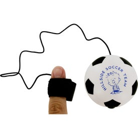 Branded Soccer Ball Stress Ball Yo Yo