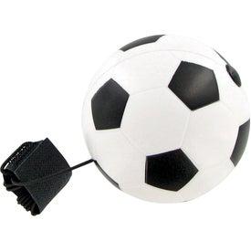 Soccer Ball Yo-Yo Stress Toy