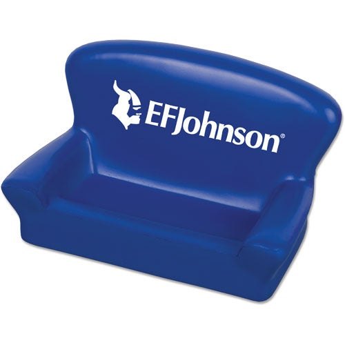 Blue Sofa Cell Phone Business Card Holder