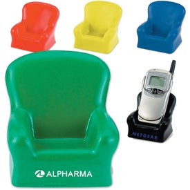 Promotional Sofa Cell Phone Holder Stress Reliever